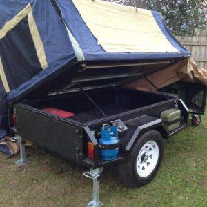 Trailer modified. Caravan and float repair company