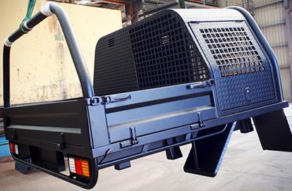 Repainted Trailer - South East Caravan Modifications and Float Repairs